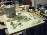 Cripta e tombe incollate